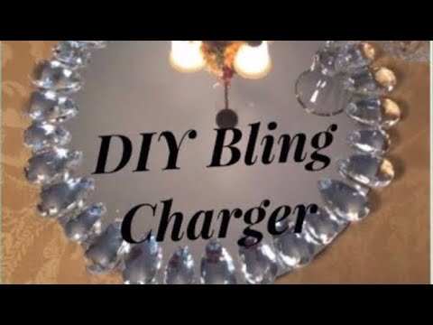 Glam Mirror DIY Charger Plates Inspired By Pier1 Import Creating Elegance For Less With Faithlyn