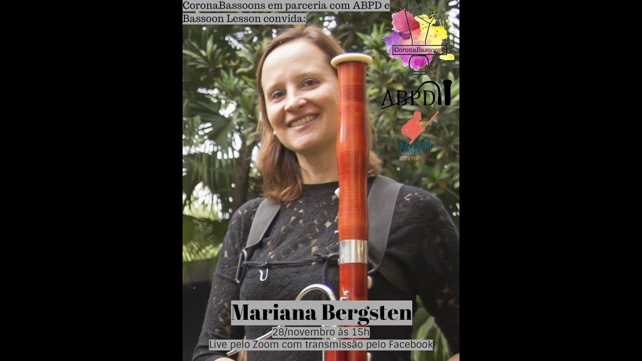 Live com a professora Mariana Bergsten