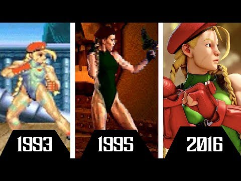 Cammy: Evolution (1993-2016)