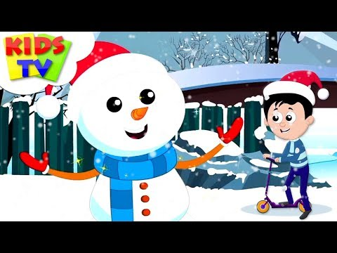 Christmas Snowman | X'mas Music & Nursery Rhymes | Kindergarten Cartoon Songs - Kids Tv