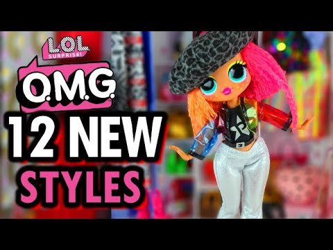LOL Surprise OMG Doll Fashions - 12 More DIY Styles!