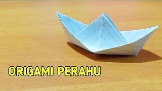 Origami Perahu, Cara Buat Perahu dari Kertas