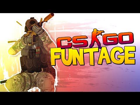 CS:GO FUNTAGE! - THE SP00N SHOW, Ninja Fail & Ethan Bradberry!