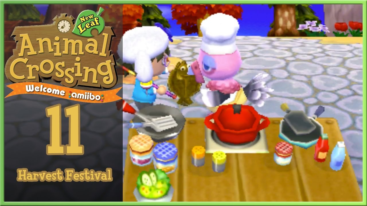 Harvest Festival Notes - Animal Crossing: New Leaf Message ...
