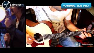 Paula Zoe Acustico Cover Guitarra Tutorial Demo Christianvib