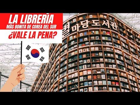La biblioteca más bonita del mundo está en COREA DEL SUR | Seúl
