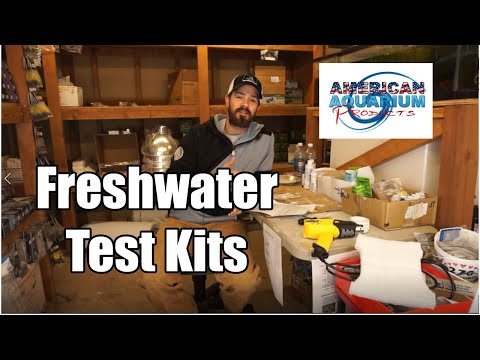 Freshwater Aquarium & Pond Test Kits | Liquid Vs. Strips | Master Test Kit