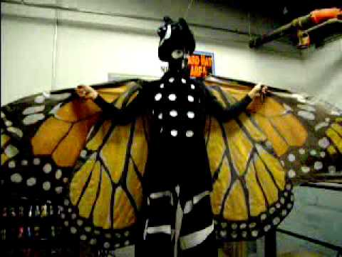 Monarch Butterfly Stiltwalker at the Natural History Museum of Los Angeles County