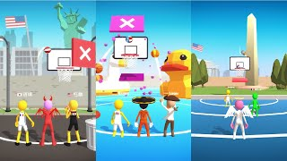Five Hoops - Basketball Game Android Gameplay