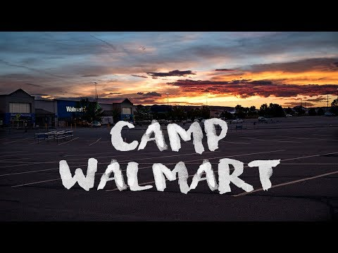 Walmart OVERNIGHT PARKING: What you NEED to know