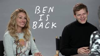 """My Fun Interview with Julia Roberts and Lucas Hedges for """"Ben is Back"""""""