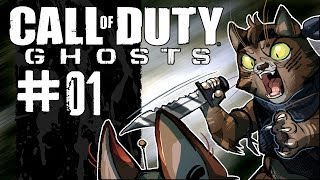 Call of Duty: Ghosts Campaign Walkthrough / Gameplay w/ SSoHPKC Part 1 - That Game Everybody Loves
