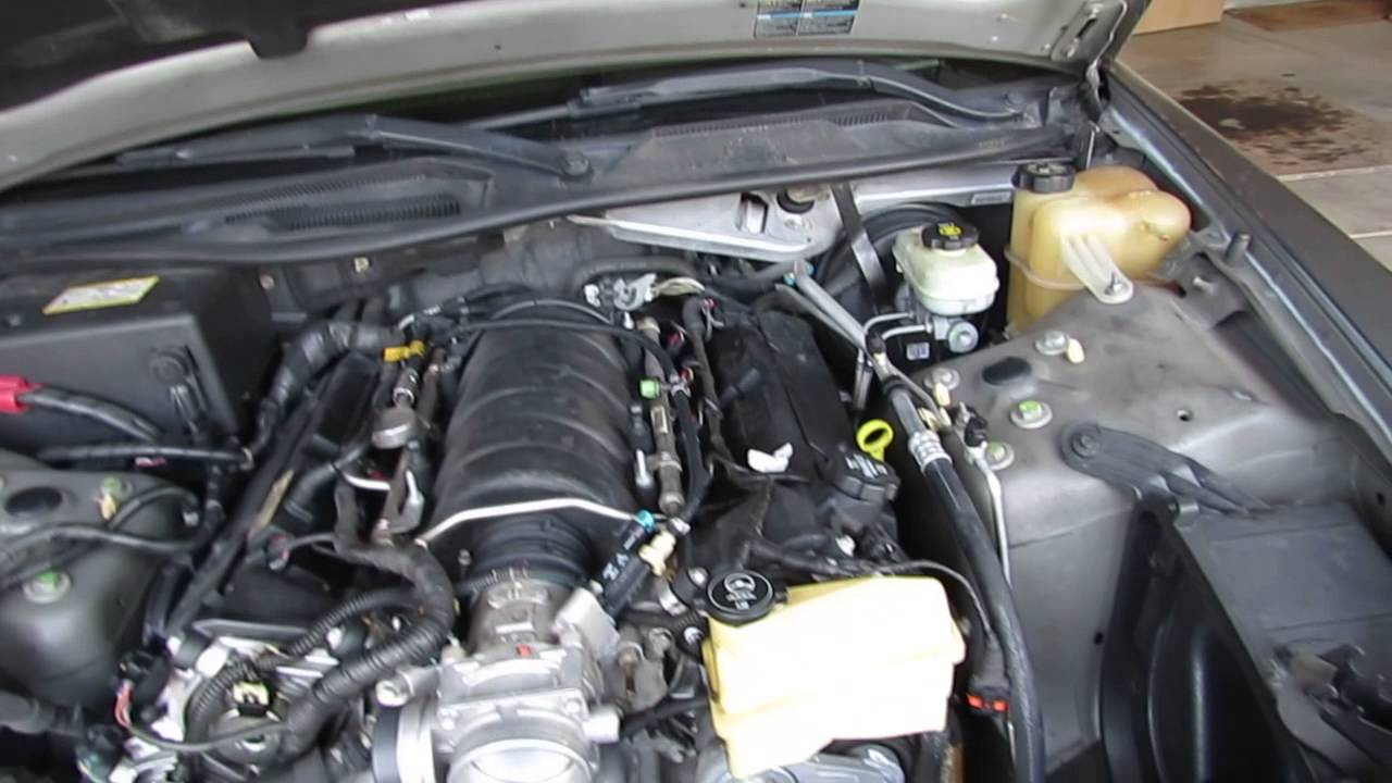 2005 Cadillac Sts Radiator Youtube