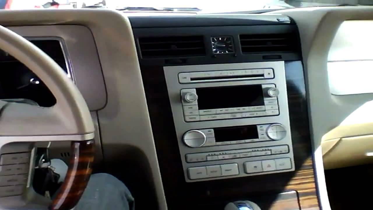 2007 Lincoln Navigator L Start Up Quick Tour Amp Rev 78k