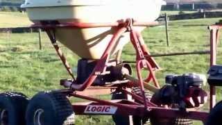 Logic System 40 Trailed Vicon Fertilizer Spreader For Sale £1650 + Vat
