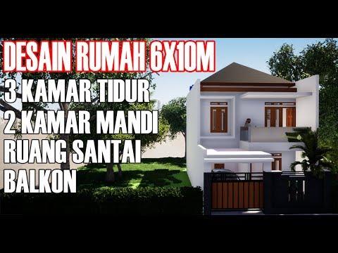Desain Rumah Minimalis Ukuran 6x15 rumah minimalis simpel dilahan 6 x 14 youtube