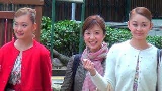 2017.4.1Filming 花組 舞空瞳さん 桜月のあさん 雪組 潤花さん IRIMACHI.
