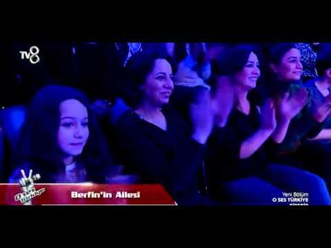 O Ses Türkiye ''Mert Cihan'' VS ''Berfin Bulut''  bu ses elenir mi? (19 01 2015)
