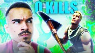 EPISCHER SIEG MIT 0 KILLS ?! 😈😂 Fortnite Battle Royale