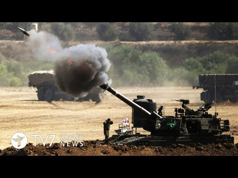 IDF opens fire toward Hamas observation posts in the Gaza Strip - TV7 Israel News 28.03.18
