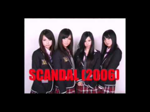 """Personel """" SCANDAL"""" Japanese Band"""