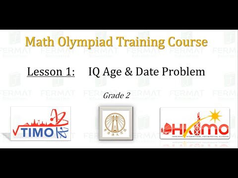 ÔN TẬP TIMO 2021-2022 - KHỐI 2 -  IQ AGE AND DATE PROBLEM