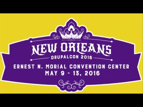 DrupalCon New Orleans 2016: Prenote - Drupal 8, Come Join the Party!