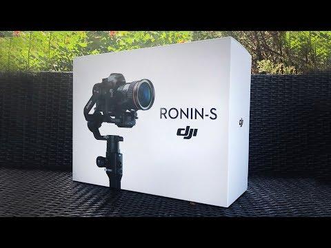 DJI Ronin-S Unboxing