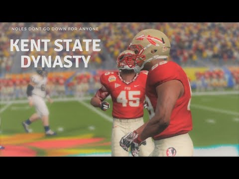 NCAA Football 14: Kent State Dynasty|Episode 79| BOWL GAME