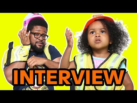 Interview With A 3-Year-Old | Construction Girl