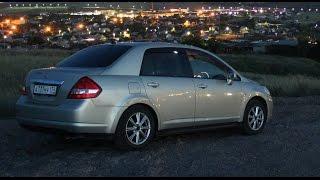 Отзыв обзор тест-драйв Nissan Tiida Latio Sedan 2005 г.в. Пруль.