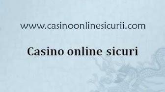 Casino online sicuri, Casino online sicuri italiani, Casino online sicuri AAMS