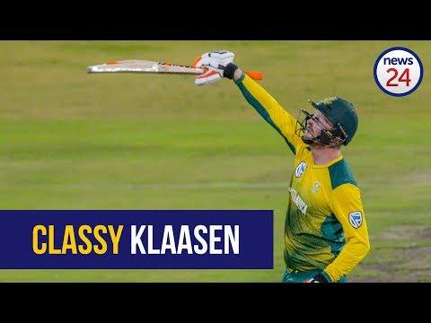 WATCH: Master-blaster Klaasen revels in top score at home ground