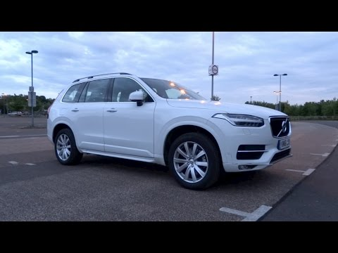 2016 Volvo XC90 2.0 D5 225 AWD Momentum Start-Up and Full Vehicle Tour
