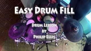 Katy Perry Drum Cover Drum Beat #1 - Easy Drum Beat or Drum Fill - Easy Drum Lesson