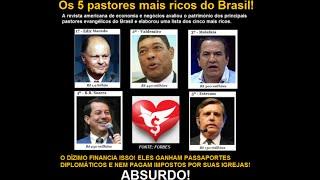 Os parasitas da Dor: Falsos profetas, Pastores televisivos e Religiosos que só querem seu dinheiro
