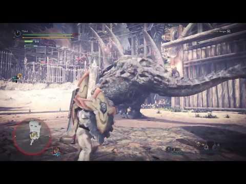 [MHW] Giant Barroth Solo Gunlance * Ryu Quest 5:32