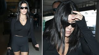 Kourtney Kardashian Asked About Being The ONLY Kardashian NOT On Maxim's Hot 100 List!