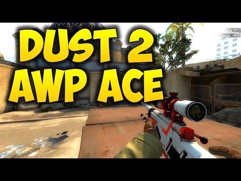 CSGO ACE I ❤ AWP ❤ Dust-2
