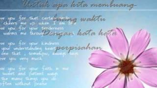 Cover images cinta kita-teuku wisnu ft shireen sungkar lyrics
