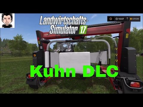 LS 17 Ps4 Kuhn DLC Ballenpressen Landwirtschafts Simulator 17