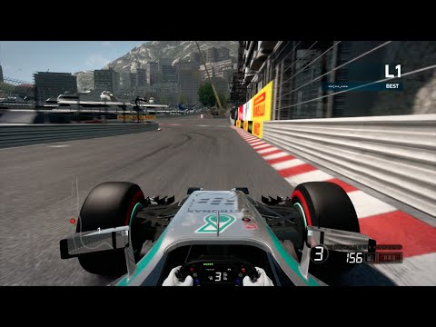 F1 2014 - Hot Lap around Circuit de Monaco, Monte Carlo (Time Trial)