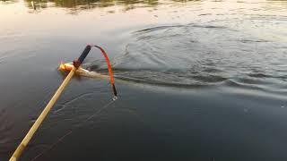РЫБАЛКА.ловля СОМА.река ОКА.