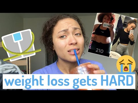 3 things you'll experience on a weight loss journey that SUCK