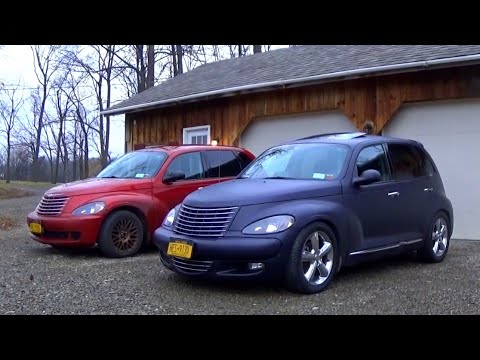 TOUR OF MY MODIFIED PT CRUISERS!