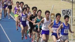 2019.4.21 日体大記録会 5000m 13組 途中棄権の数が凄い。当時気温24度...