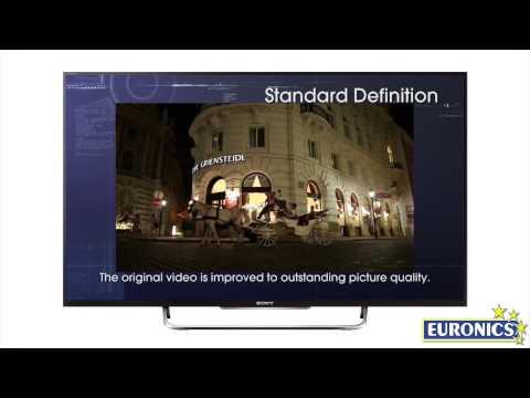 Sony   Smart TV 3D LED   KDL 55W828