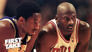 Stephen A.: Kobe Bryant always wanted to take down Michael Jordan | First Take