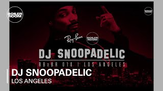 DJ Snoopadelic Ray-Ban x Boiler Room 010 Los Angeles Live Set