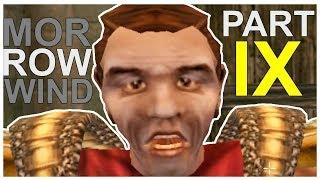 Morrowind Funny Moments Gameplay Part 9 (The Elder Scrolls GOTY Steam) Bloodmoon DLC